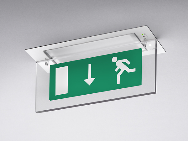 Emergency evacuation signs and lighting