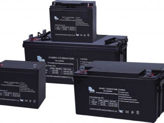Accumulator batteries, power supplies and components
