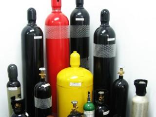 Bottles for technical gases
